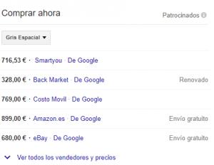 serp google ads