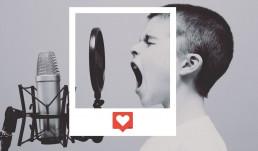 Redes sociales con audio, en directo o diferido